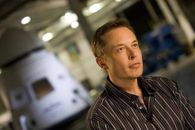 Elon Musk (Crédits : OnInnovation, licence Creative Commons)