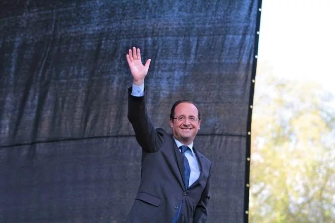 François Hollande en 2012 (Crédits Mathieu Delmestre-Solfé Communications licence Creative Commons)