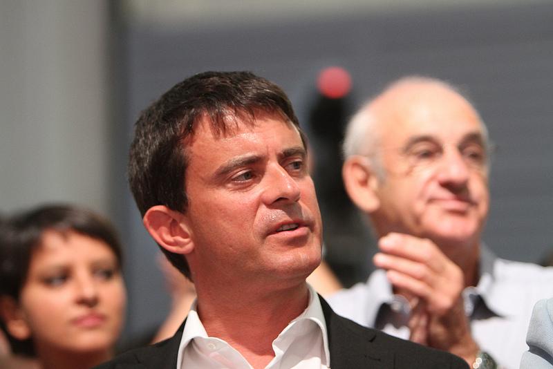 Manuel Valls (Crédits : Parti Socialiste, licence CC-BY-NC-ND 2.0), via Flickr.
