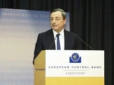 Mario Draghi, président de la BCE (Crédits ECB European Central Bank, licence Creative Commons CC-BY-ND)