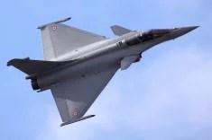Un Rafale de Dassault (Crédits Airwolfhound, licence Creative Commons)