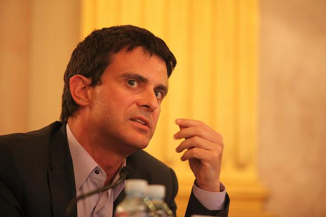 Manuel Valls (Crédits : Fondapol, licence creative commons)