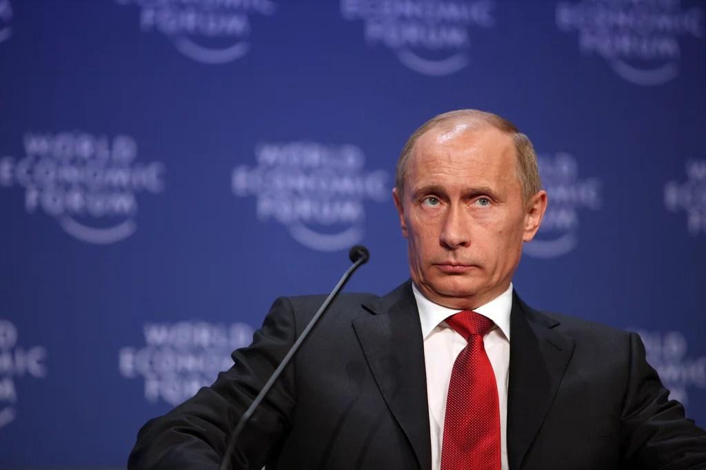 Vladimir Poutine (Crédits World Economic Forum, licence Creative Commons)