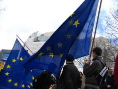 drapeau européen (Crédits : jeunes-europensdotorg vx_lentz, licence Creative Commons)