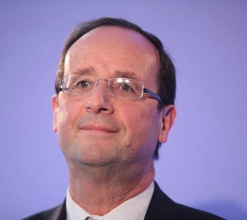 François Hollande credits Parti socialiste (licence creative commons)