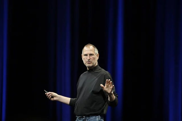 Steve Jobs credits Ben Stanfield licence creative commons