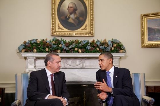 Erdogan_Obama_White_House_1 CC Crédit photo Samantha Appleton