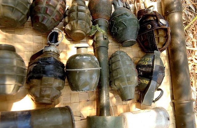 grenade terrorisme credits Israel defense forces (licence creative commons)