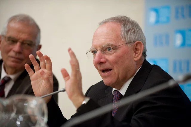 wolfgang schauble credits european university institute (licence creative commons)