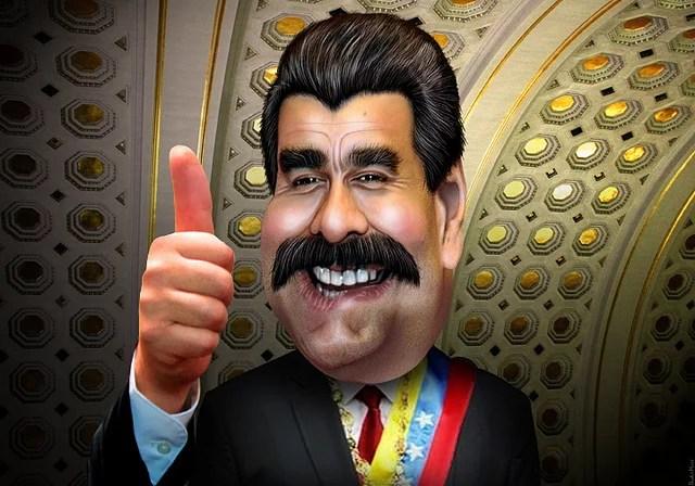 Nicolás Maduro credits donkey hotey (licence creative commons)