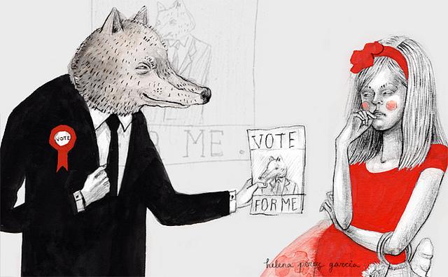 vote politique élections (credits helena perez garcia) licence creative commons