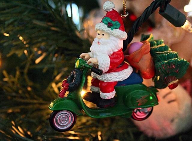 Père Noël licence CC crédits Rosana  Prada