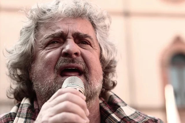 Beppe Grillo credits Matteo (licence creative commons)