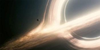 Interstellar trou noir (capture d'écran)