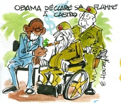 Obama et Cuba René Le Honzec