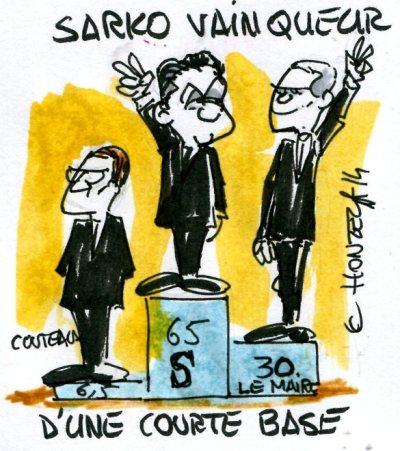 contrepoints 950 Sarkozy président de l'UMP