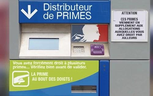 distributeur de primes