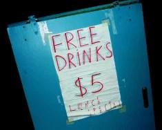 Free Lunch gratuité (crédits sea turtle, licence Creative Commons)