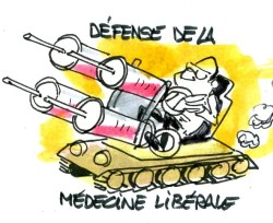 défense médecine  (Crédits : René Le Honzec/Contrepoints.org, licence Creative Commons)