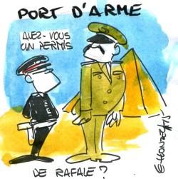 Port d'arme - René Le Honzec - contrepoints 216