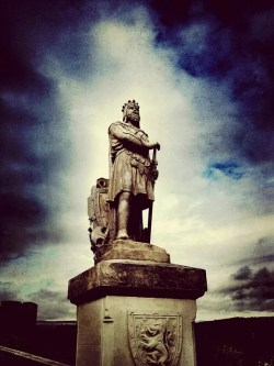 Robert The Bruce at Stirling Castle - Credit Darcy Moore (CC BY-NC-SA 2.0)