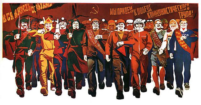 USSR -happy march credits John Vaughan (CC BY-NC-SA 2.0)