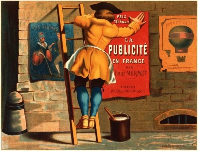 publicité par Mermet circa 1880 - cc by 2.0 - trialsanderrors