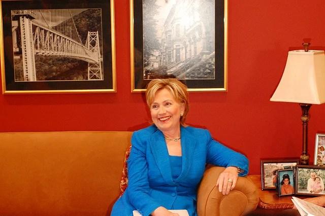 Hillary Clinton credits Talk Radio News Service (CC BY-NC-SA 2.0)