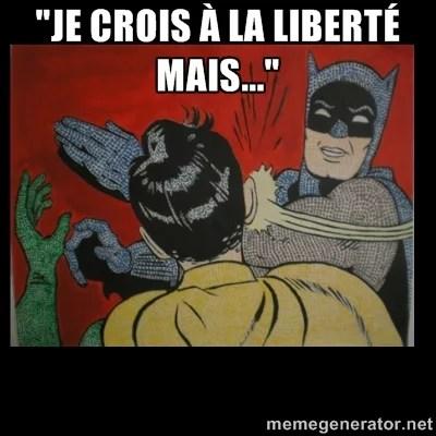 Liberty slap