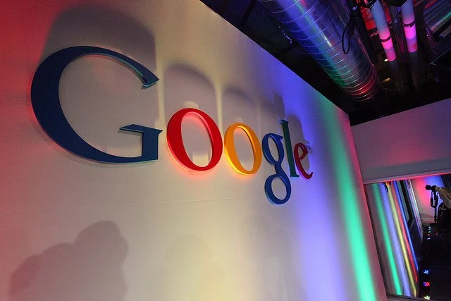 google logo in building credits Robert Scoble  (CC BY 2.0)