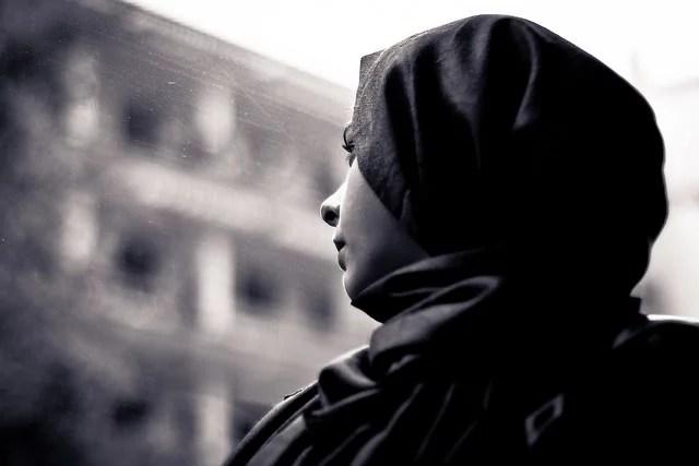 Femme musulmane voilée