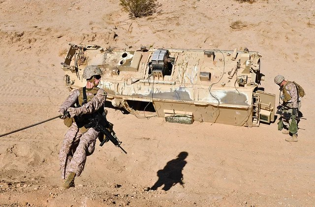 Roll with it - Marines (CC BY-NC 2.0)