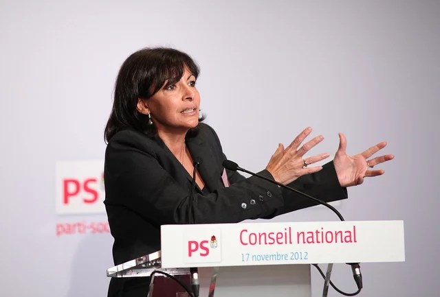 Anne hidalgo credits Parti Socialiste via Flickr ((CC BY-NC-ND 2.0)