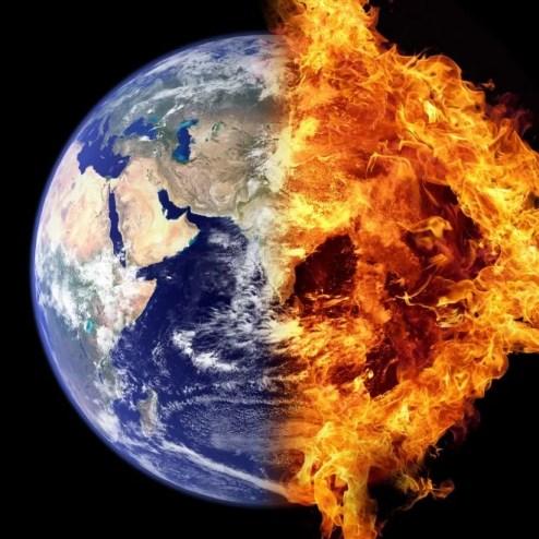 Réchauffement climatique (public domain)