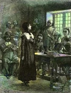 Anne_Hutchinson_on_Trial, public domain