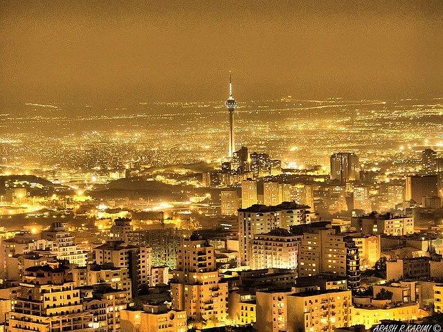 Iran Teheran city of lights Arash Razzagh Karimi (CC BY-NC-ND 2.0)