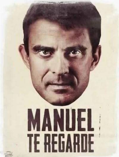 Manuel Valls - Manuel te regarde