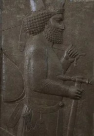 Xerxes personal weapon bearers-A.Davey (CC BY 2.0)