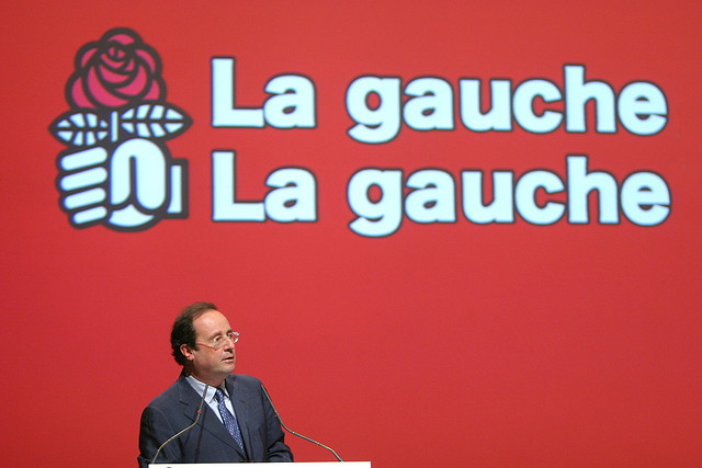 Francois Hollande credits Parti socialiste WikiCommons ( (CC BY-NC-ND 2.0)