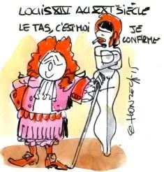Louis XIV rené le honzec