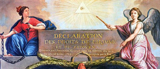 Déclaration des droits de l'homme, wikipedia, Domaine public
