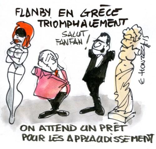 Contrepoints918 Grèce - René Le Honzec