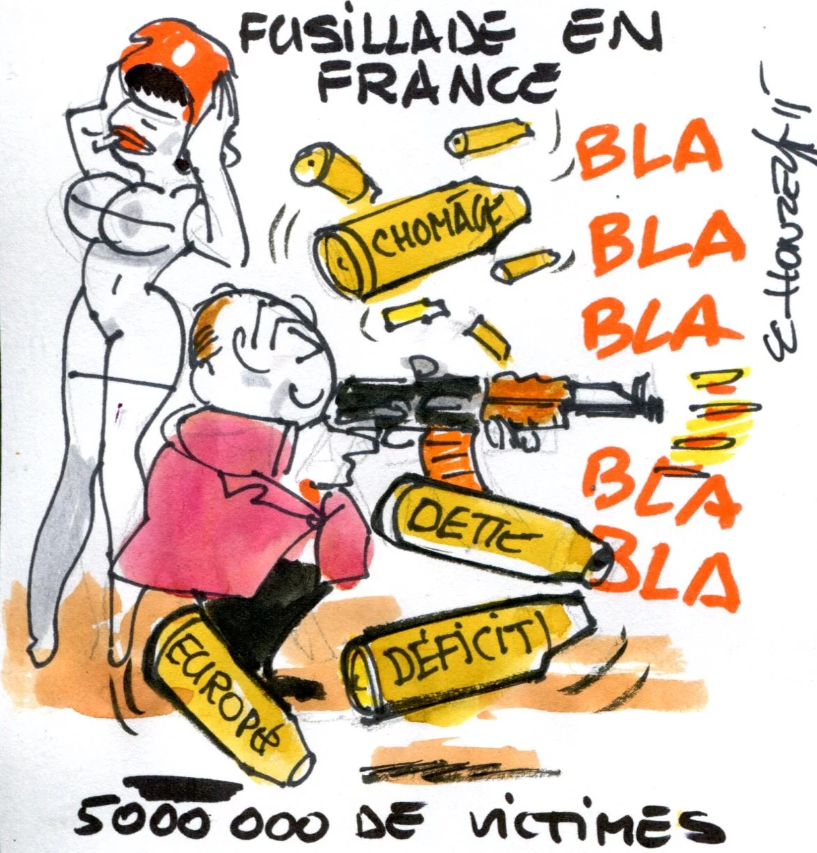 fusillade en France rené le honzec