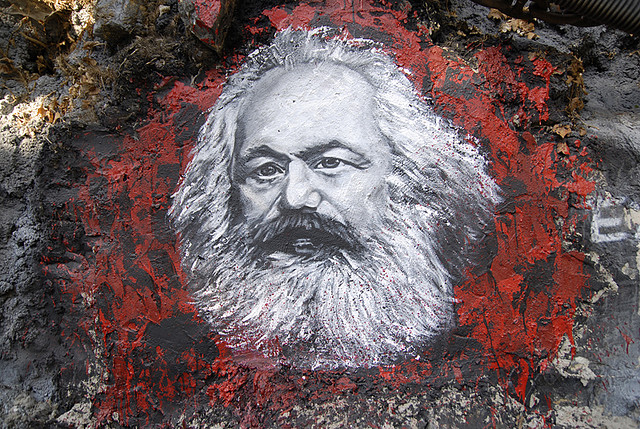 thierry ehrmann-Marx painted portrait(CC BY 2.0)