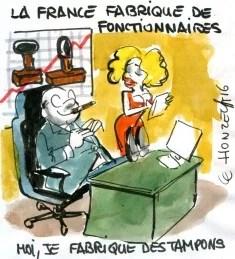 La France fabrique des fonctionnaires rené le honzec