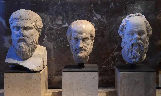 Hans Olofsson-Philosophers, Louvre(CC BY-NC-ND 2.0)
