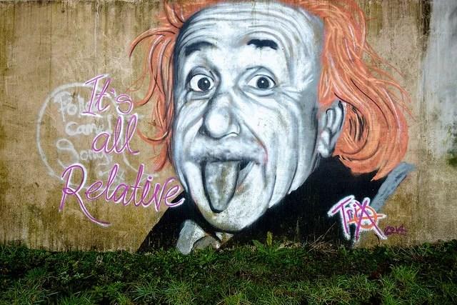 Einstein Graffiti crédits kennysarmy (CC BY-NC-ND 2.0)