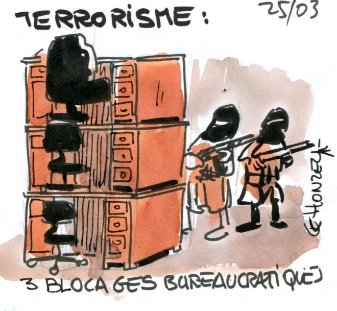 terrorisme et bureaucratie René Le Honzec