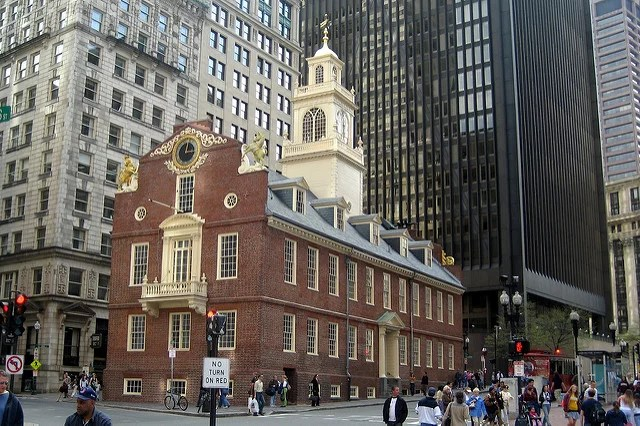Wally Gobetz_Boston Freedom Trail_Old State House(CC BY-NC-ND 2.0)