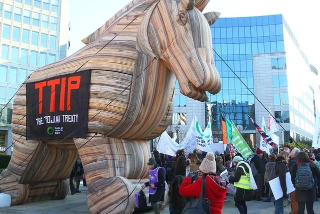 TAFTA TTIP, cheval de troie du protectionnisme américain ?